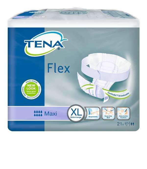 Tena Flex Maxi medium ,weiss ,15.25.31.7028 ,22er Packung