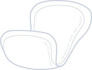 ID Expert Anatomical Pad Normal ,ohne Folie 26x53cm , Einzelstueck
