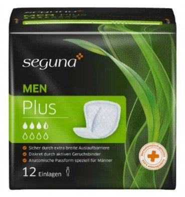 Seguna Men Plus , 15.25.30.5.218 ,12er Packung