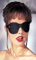 Leder Augenmaske