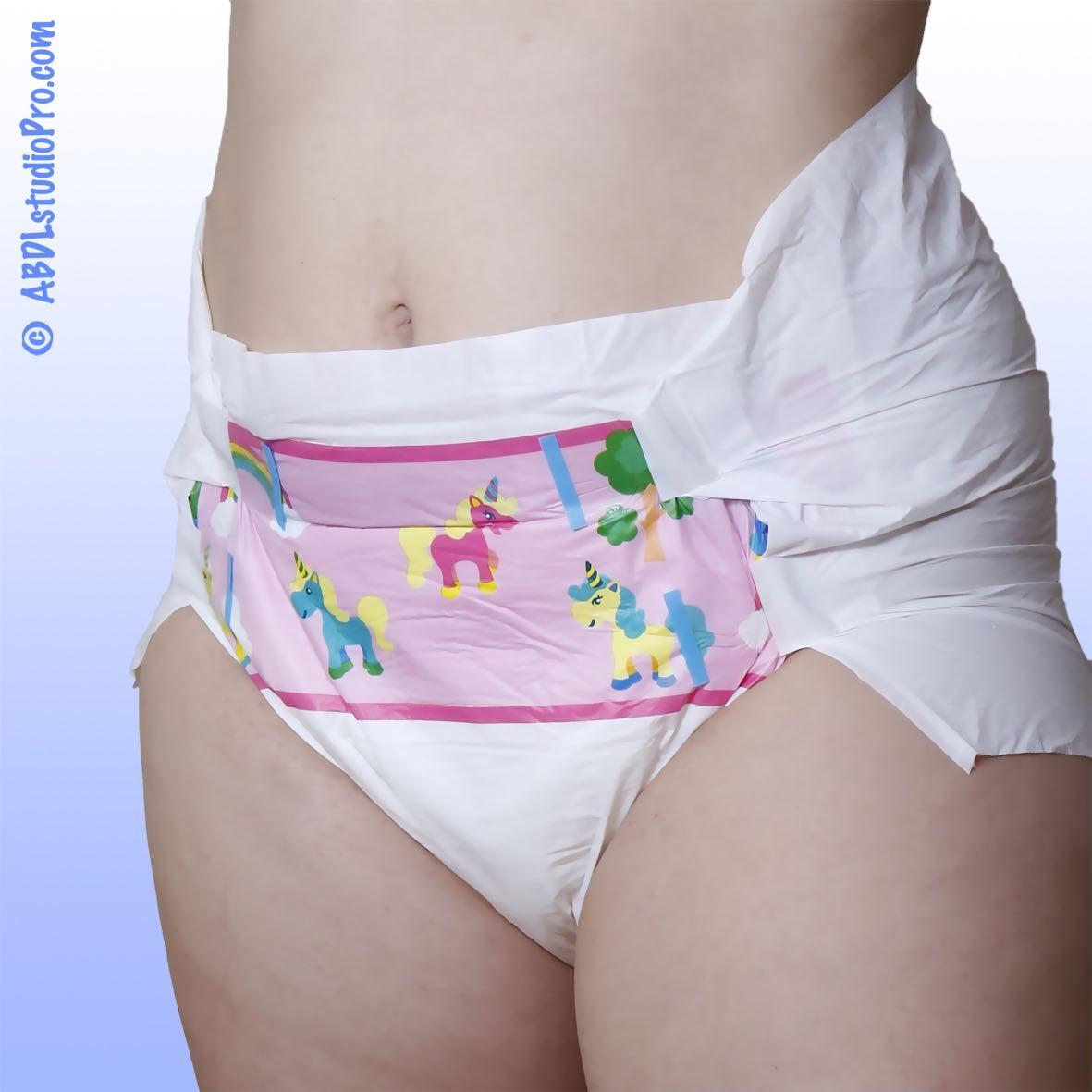 PlayDayz Classic Farbcode-pink Windel medium, Einzelstueck