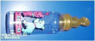 Flaschensauger symetrisch gross,Latex incl. 240ml Flasche