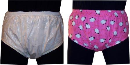 2209 PVC/Baumwoll Schutzhose Farbton: rosa/pink Muster: verschieden