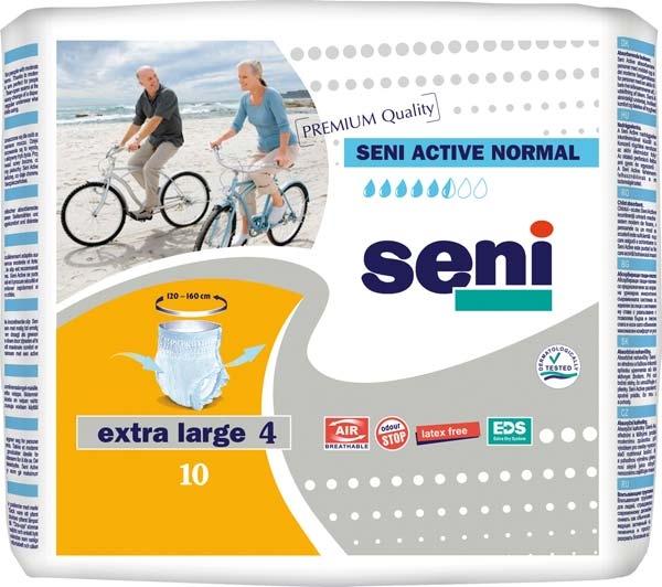 Seni Active Normal Pants x-large ,10er Packung