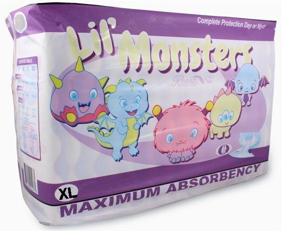 Lil Monsters Windelhose xlarge, 12er Packung