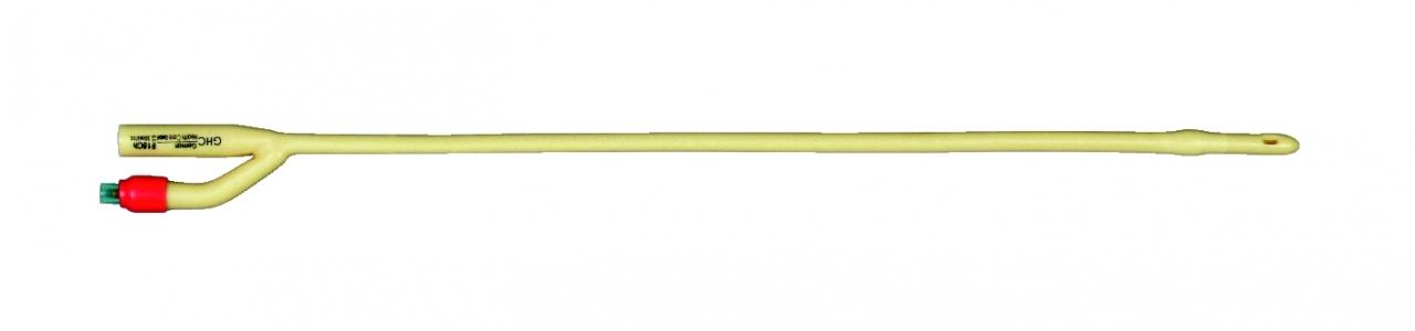 GHC Transurethraler 2-Wege Latexballonkatheter CH16 Nelatonspitze Ballonvolumen: 30ml Laenge: 40cm