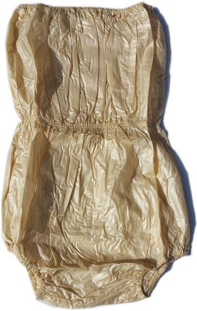 airoliver hohe Uebernacht-Schutzhose aus PVC , gelb/lemon