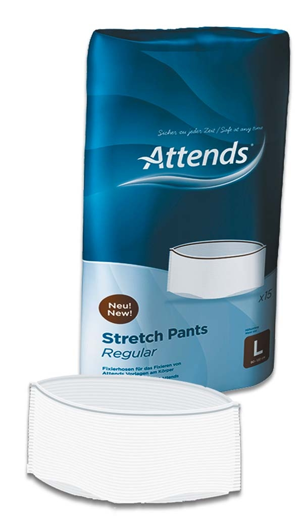 Attends Stretchpants Hose large 15 Stueck 15.25.02.1103