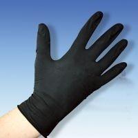Latex-Unters.Handschuhe puderfr. schwarz Gr.S 100 St. 19.99.01.0014