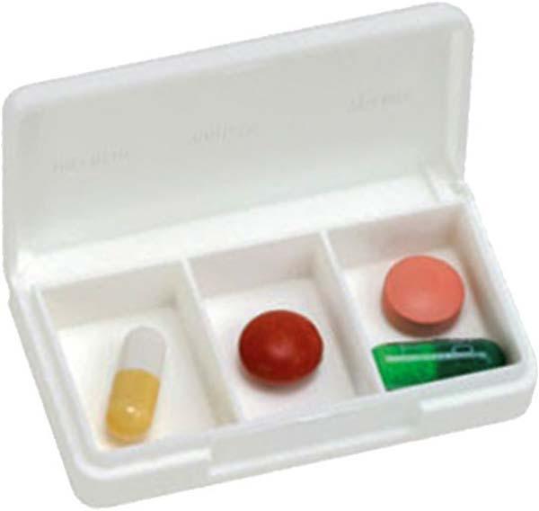 Tablettendose klein 3 Faecher