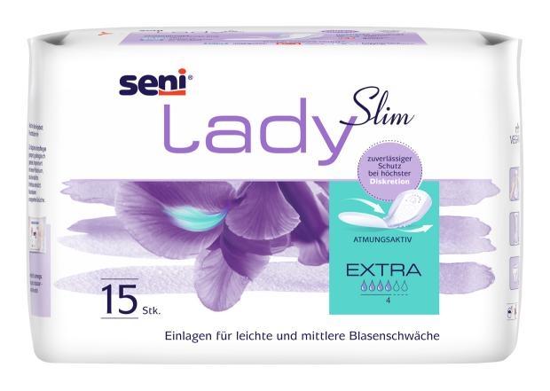 Seni Lady Extra 15.25.30.5045 ,15er Packung