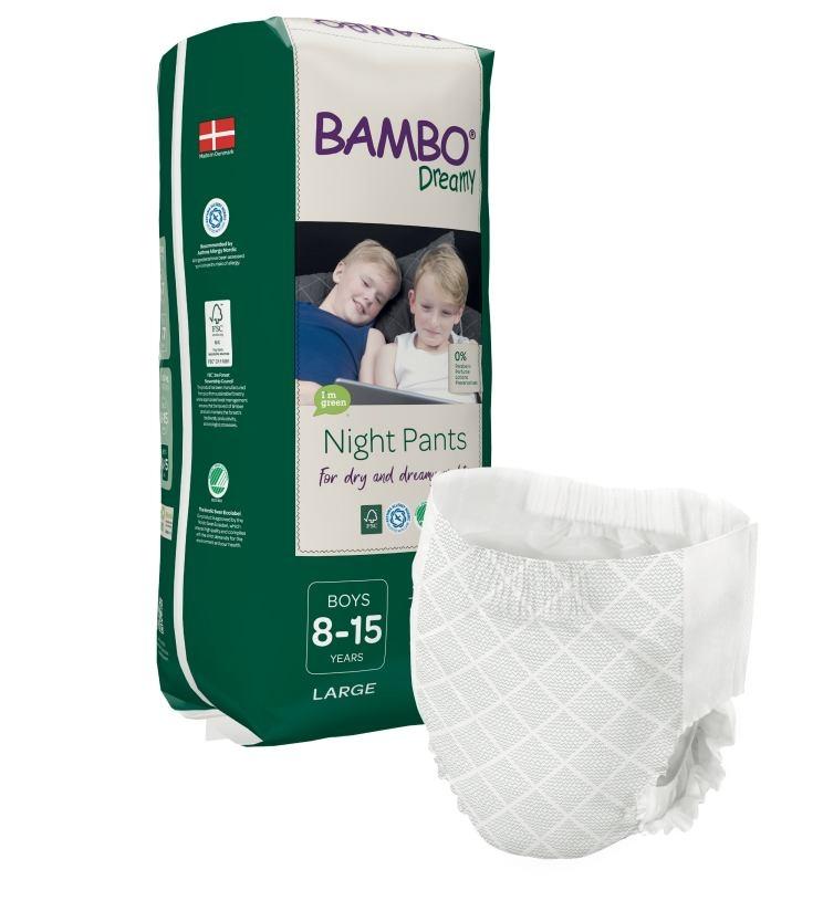 Bambo Dreamy Night Pyjama Pants Boys 8-15 Jahre 35-50kg , 10er Packung