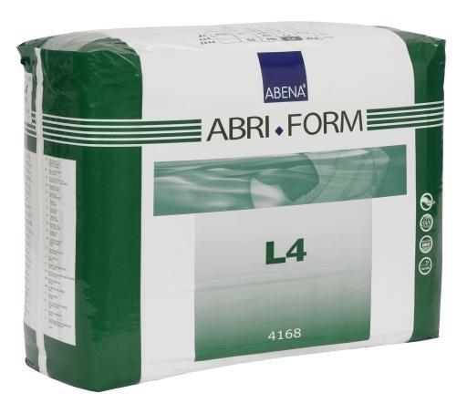 Abri Form L4 xPlus large ,Slip, weiss , 15.25.03.2095, FOLIE 12er Packung