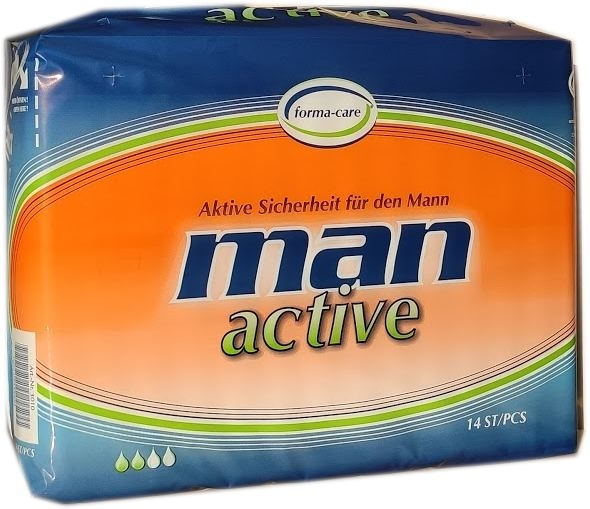 forma-care man active 14er Packung 15.25.01.5195