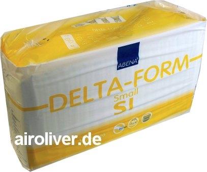 Delta-Form S1 Gr.SMALL Inko-Slip,Nacht, 15.25.03.1145, 20er Packung