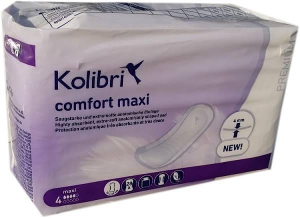 Kolibri Comfort Premium SOFT Maxi Einlage 15.25.01.5323 ,28er Packung