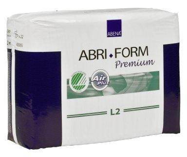 Abri Form Premium L2 Super large ,Slip,weiss, 15.25.03.2078, 22er Packung