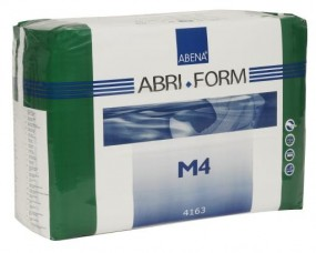 Abri Form M4 xPlus medium ,Slip,weiss , 15.25.03.1106, FOLIE 14er Packung