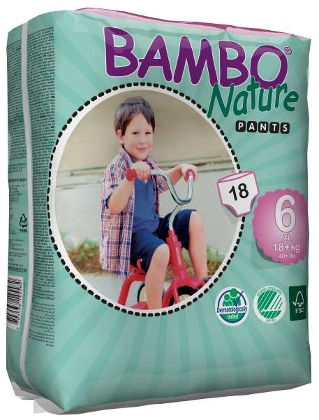 Bambo Trainings Pants XL Groesse 6 , 18+ kg ,18er Packung