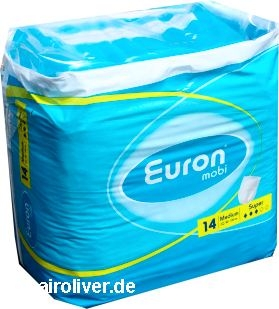 Euron Mobi Pants Super small, 15.25.01.5, 14er Packung