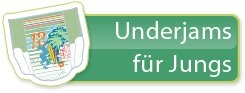 Pampers UnderJams fuer Jungen Unterwaesche 8-12 Jahre L/XL 27+ kg Einzelstueck
