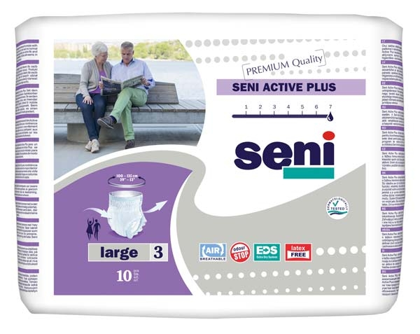 Seni Active Pants Plus large , 10er Packung