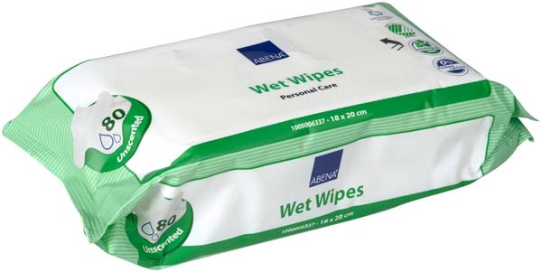 Abena SKIN CARE Wet Wipes FEUCHTPF TUE Packung 80er Packung