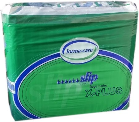 Forma-care X-PLUS Slip Gr.L , Nacht ,gruen, 15.25.03.2999, (IT) 16er Packung