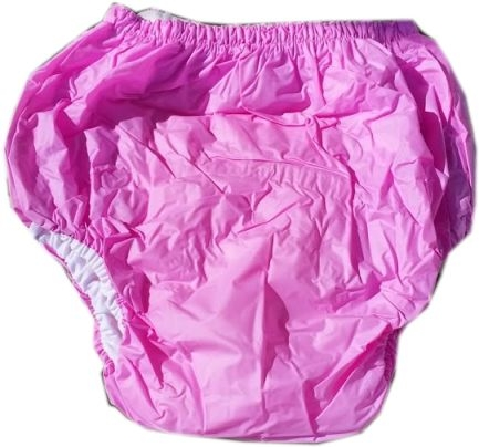 2033 Dicke Schlupfhose PVC-Baumwolle pink/rosa