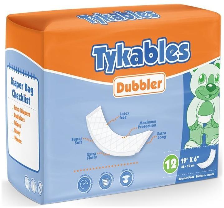 Tykables Dubbler Booster Pads 12er Packung