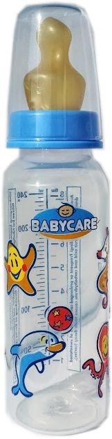 Babycare Babyflasche PP/Latexsauger mit Motiv 240ml Flasche