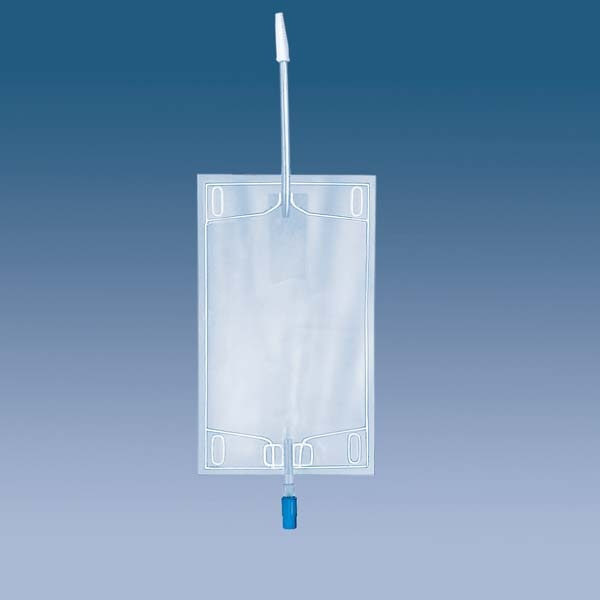 Urin-Beinbeutel m. Ablauf 750ml 5230101