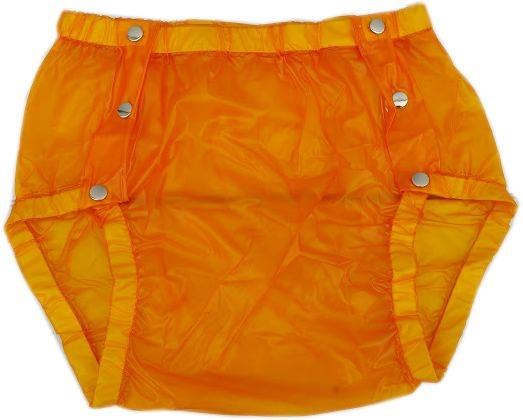 Su Slip PVC , grosse Metalldrucker Nr.1249 orange