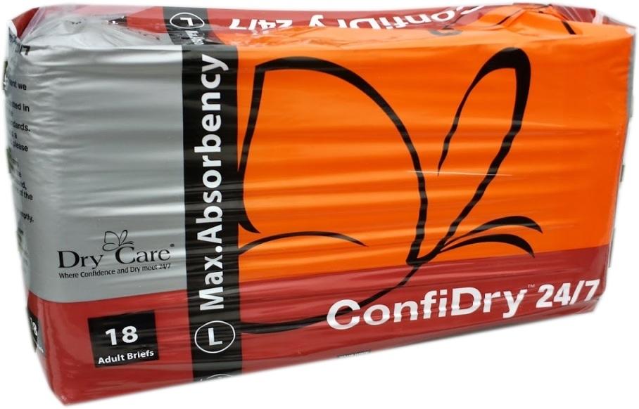 Dry 24/7 Windelhose large, 18er Packung