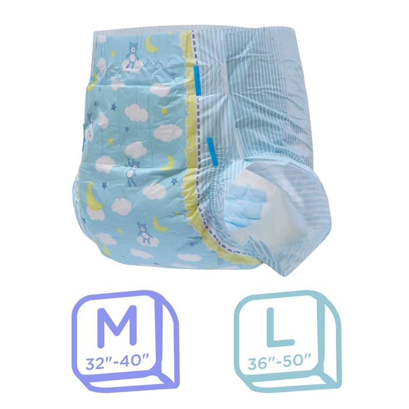 LFB Little Dreamers Adult Diaper, Large , Einzelstueck