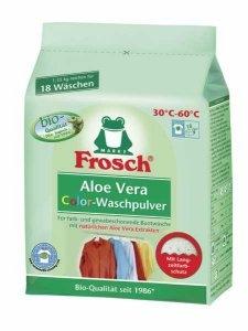 Frosch Aloe Vera Waschpulver ca.18 Waschladung 1,35kg