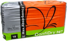 Dry 24/7 Windelhose medium, 18er Packung