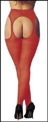 Sex-Strumpfhose rot 36-44