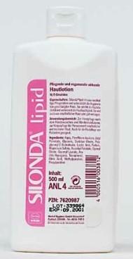 Silonda Lipid 500ml Hautpflege