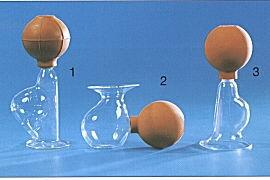 JH.Handmilchpumpe No.3 aus Glas