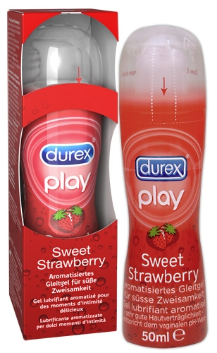 Durex Play Erdbeere 50ml