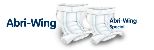 Abri Wing Slip L2 Spezial Large , weiss , Einzelstueck