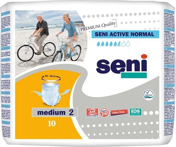 Seni Active Normal Pants medium ,10er Packung