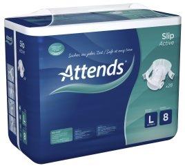 Attends Slip Active No.8, large , 15.25.03.2151, 28er Packung