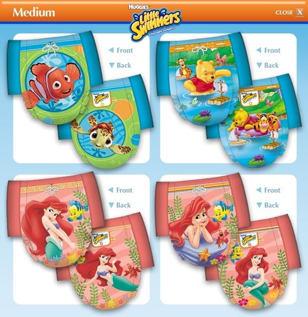 Huggies Little Swimmers Gr.M Schwimmhoeschen Einzelstueck