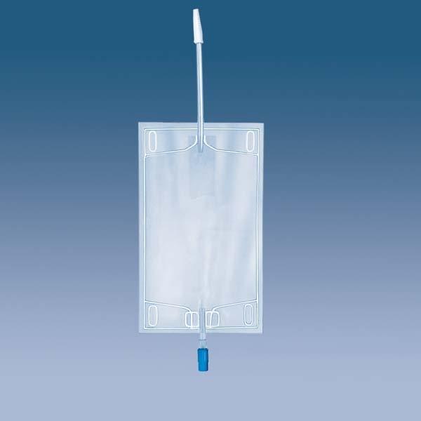 Urin-Beinbeutel m. Ablauf 750ml 5231101