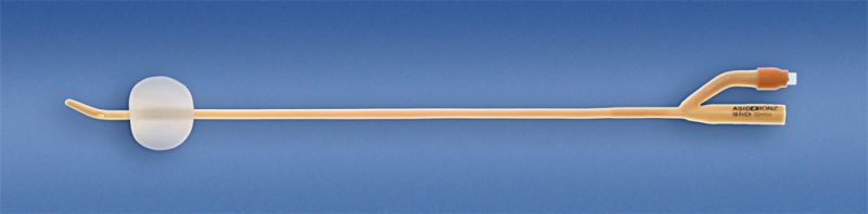 AB. UROSID Latex Tiemann-Ballonkatheter zweilaeufig 30 ml CH18 PZN 00182610