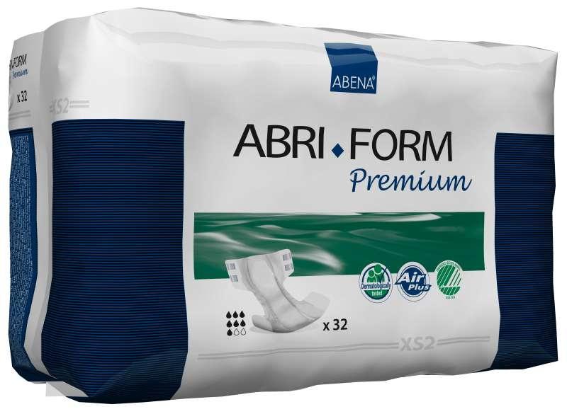 Abri Form Premium XS2 Super xsmall ,Slip,weiss , 15.25.03.0071, 32er Packung