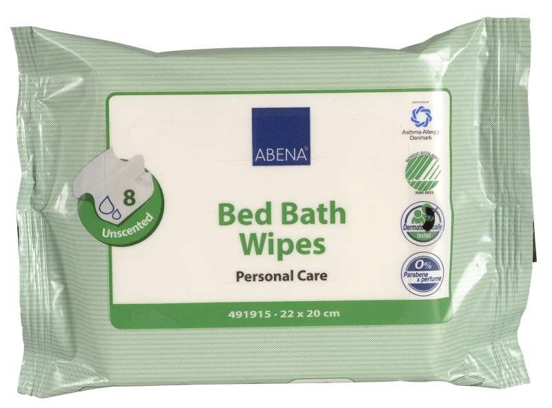 Abena Bed bath wipes 22x20cm 8er Packung