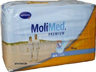 Molimed Premium Midi 168644 15.25.01.5049 ,14er Packung